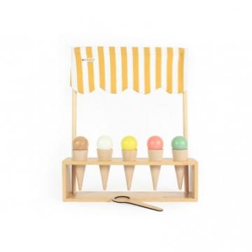 Eisstand-Spiel aus Holz