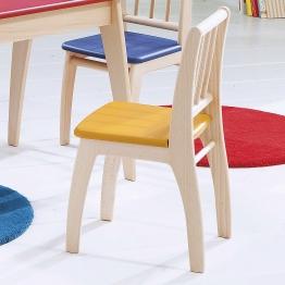 Kinderstuhl Sitzfläche gelb