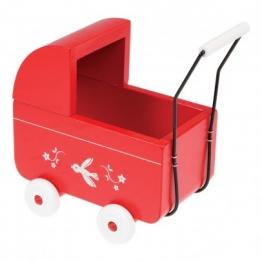 Mini-Puppenwagen aus Holz
