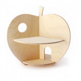 Puppenhaus Apfel aus Holz