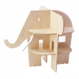 Puppenhaus Elefant aus Holz