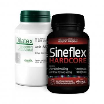 Combo Power Supplements Dilatex + Sineflex Hardcore